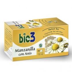 Bie3 Manzanilla con Anís 25 bolsitas