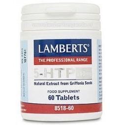 5-HTP 100 mg Triptófano 60 tabletas Lamberts
