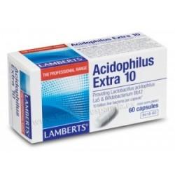 ACIDOPHILUS EXTRA 10 60 CAPSULAS LAMBERTS