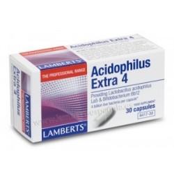 ACIDOPHILUS EXTRA 4 30 CAPSULAS LAMBERTS