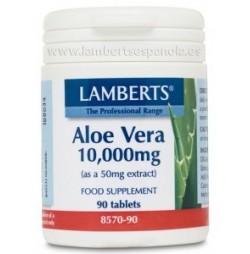 ALOE VERA 10.000 mg 90 TABLETAS LAMBERTS