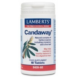 CANDAWAY CANELA Y OLIVO 60 CAPSULAS LAMBERTS