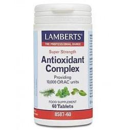COMPLEJO ANTIOXIDANTE 60 TABLETAS LAMBERTS