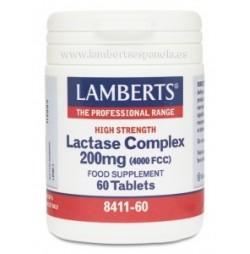 COMPLEJO DE LACTASA 200 mg 60 TABLETAS LAMBERTS