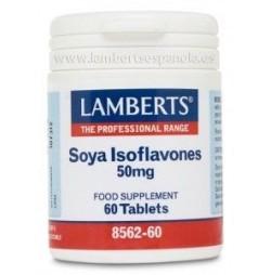 ISOFLAVONAS DE SOJA 50 mg 60 TABLETAS LAMBERTS