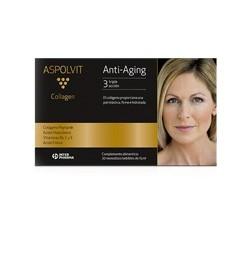 Aspolvit Collagen Anti Aging Colágeno + Hialurónico 20 viales