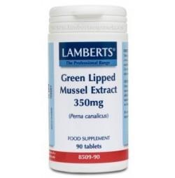 MEJILLON DE LABIO VERDE 350 mg 90 TABLETAS LAMBERTS