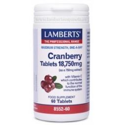 Arándano Rojo 18.750 mg 60 tabletas Lamberts