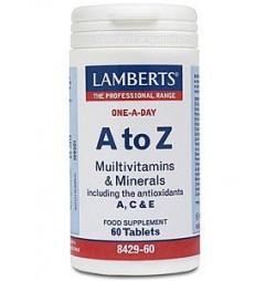 A-Z MULTIVITAMINAS 60 TABLETAS LAMBERTS