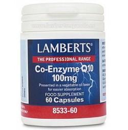 CO ENZIMA Q10 100 mg 60 CAPSULAS LAMBERTS
