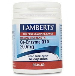 CO-ENZIMA Q10 200 mg 60 CAPSULAS LAMBERTS