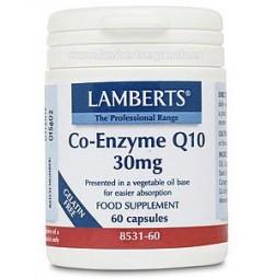 CO-ENZIMA Q10 30 mg 60 CAPSULAS LAMBERTS