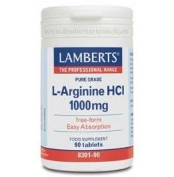 L-ARGININA 1000 mg 90 TABLETAS LAMBERTS