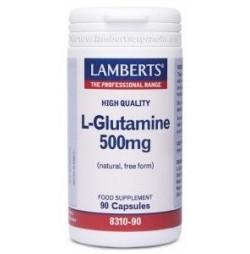 L-Glutamina 500 mg 90 cápsulas Lamberts