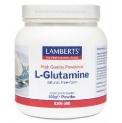 L-GLUTAMINA EN POLVO 500 g LAMBERTS