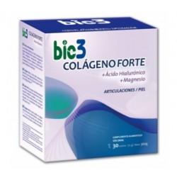 Bio3 Colágeno Forte + Ácido Hialurónico 30 sobres