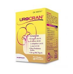 Urocran Arándano Rojo + Probióticos + D-Manosa 30 cápsulas