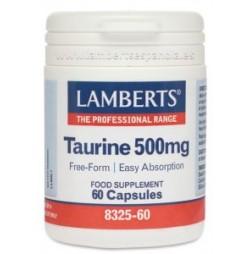 TAURINA 500 mg 60 CAPSULAS LAMBERTS