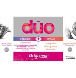 ACTIFEMME DUO CANDIDAS 10 + 14 CAPSULAS