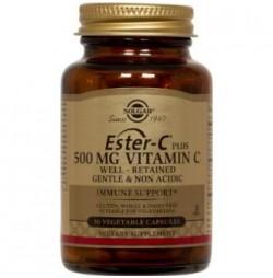 ESTER C PLUS 500 mg 50 CAPSULAS SOLGAR