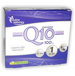 COENZIMA Q10 100 mg 30 CAPSULAS PINISAN
