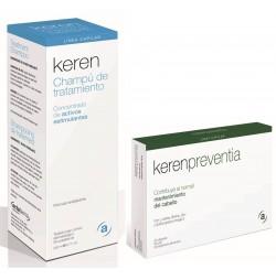 Keren Pack Anticaída Champú + Cápsulas