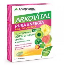 Arkovital Pura Energia 30 comprimidos Arkopharma