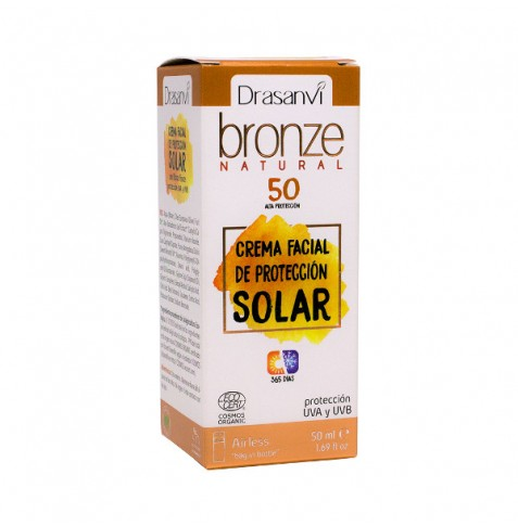 Bronze Protección Solar Facial SPF30 Bio 50 ml