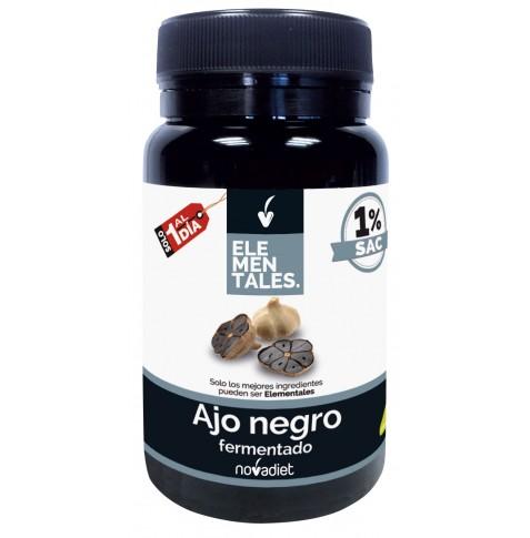 Ajo Negro fermentado 30 cápsulas Elementales Novadiet