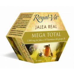 Royal Vit Jalea Real Mega Total 20 viales Dietisa