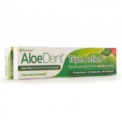 Aloedent Triple Acción Sin Flúor 100 ml