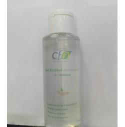 Gel hidroalcohólico desinfectante de uso tópico