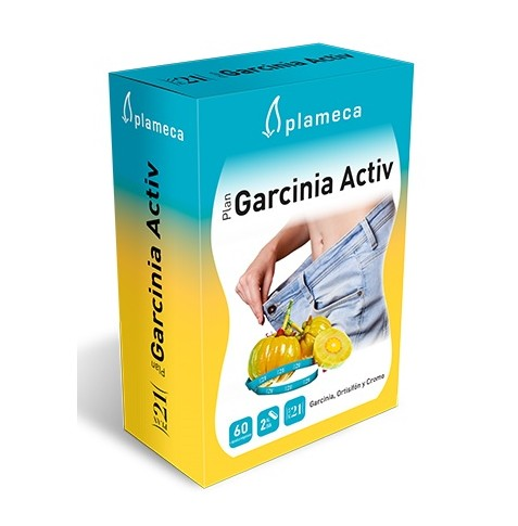 Plan Garcinia Activ 60 cápsulas Plameca